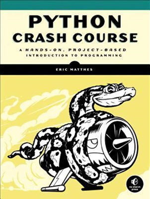 best books to learn python for beginners - Python Crash Course - Project-Based Introduction to Programming.