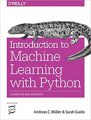 best books to learn python for experts - Introduction to Machine Learning with Python - A Guide for Data Scientists