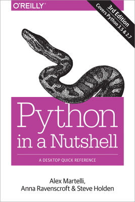 best python books for expert - Python in A Nutshell - A Desktop Quick Reference