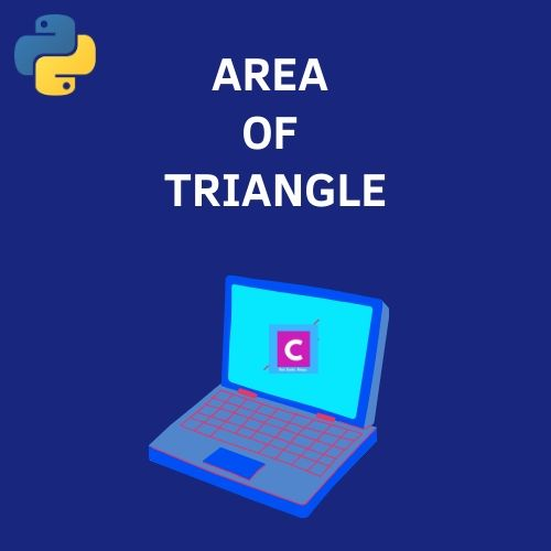 python 3 program to find area of triangle