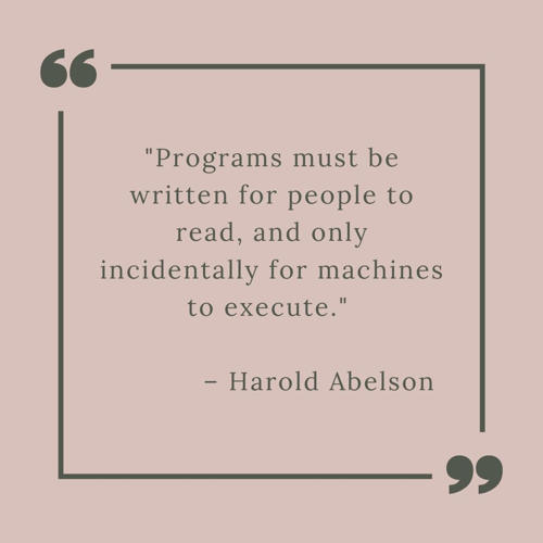 best technology quotes - Programs must be written for people to read and only incidentally for machines to execute