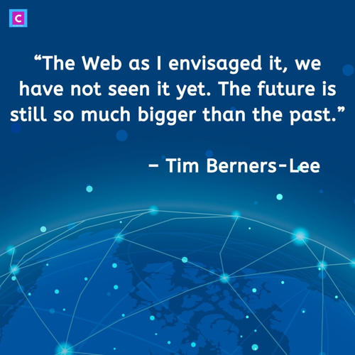 best technology quotes - The Web as I envisaged it we have not seen it yet
