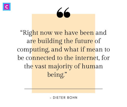 best technology quotes by world leaders - Right now we have been and are building the future of computing