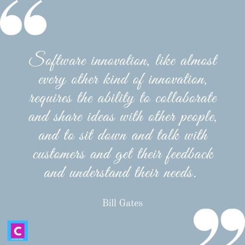 best technology quotes - software innovation like almost every other kind of innovation - bill gates