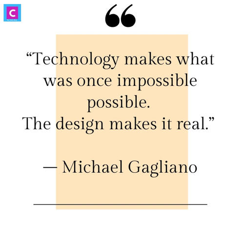 best technology quotes - technology makes what was once impossible possible