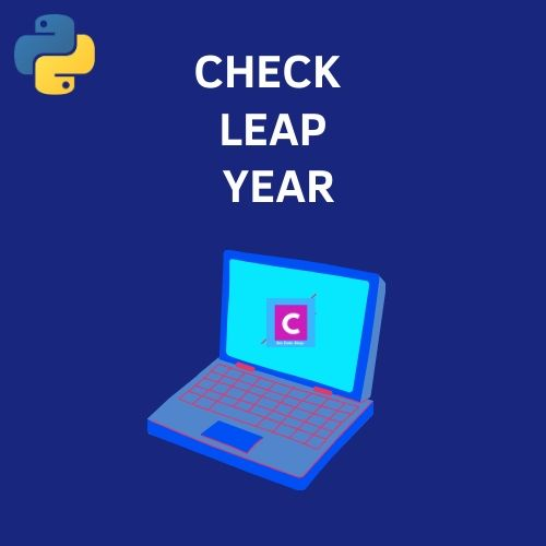 python 3 program check leap year