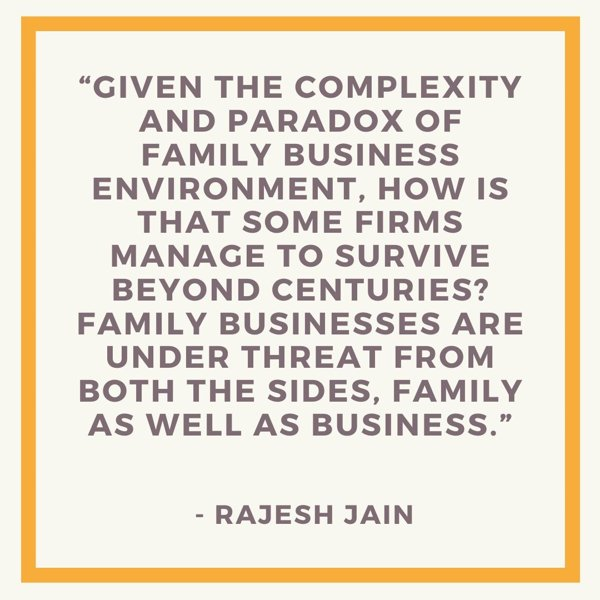 best family business quotes - given the complexity