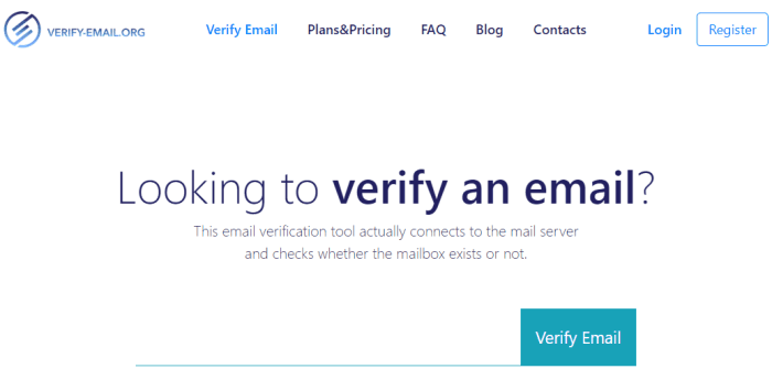 free email verifier online tool