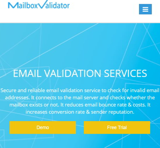 mailboxvalidator - free online bulk email verifier