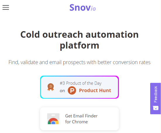 snov - email verification platform