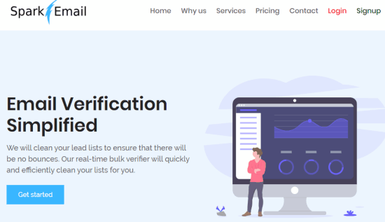 email verification simplified - spark email