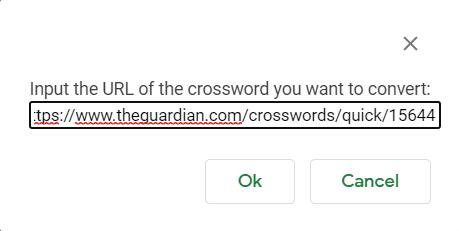 paste guardian crossword url