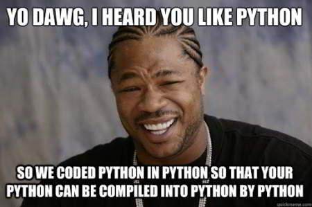 python funny meme 23 - coded python in python