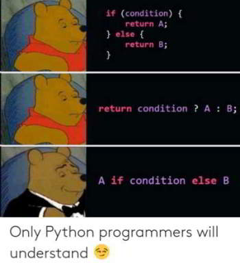 python meme 14 - only programmers will understand