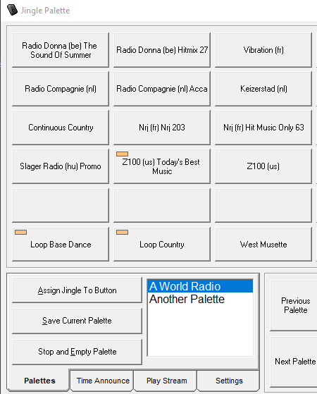 Jingle Palette - free soundboard software for windows