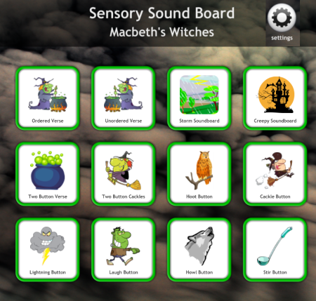 sensory sound board - windows software