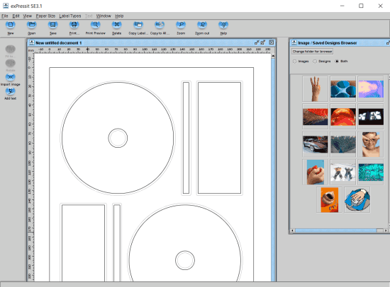 expressit - best free dvd cover creator