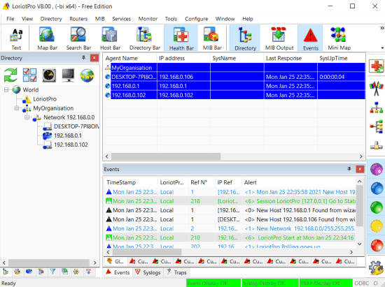 loriotpro best snmp manager software