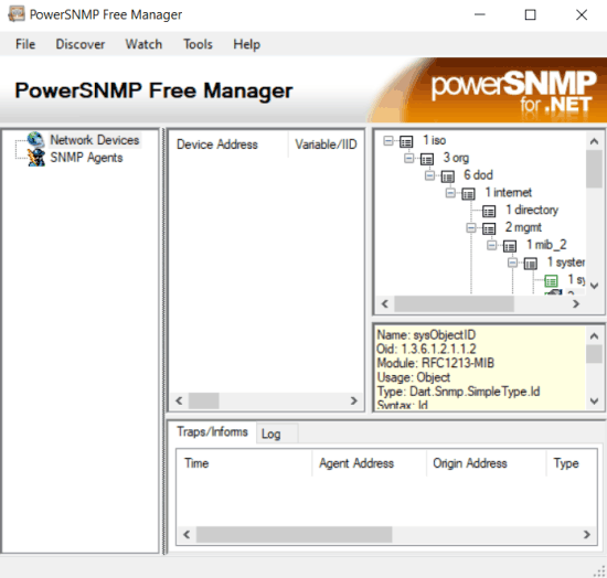 powersnmp free manager for windows