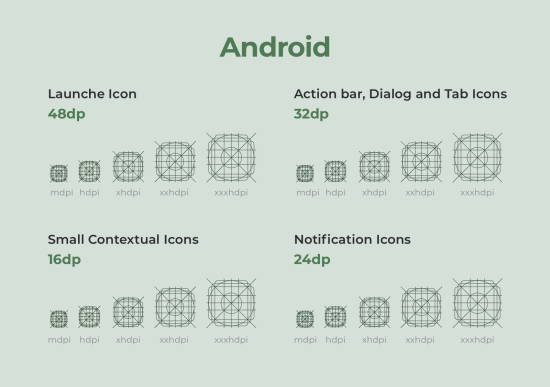 android material design guidelines
