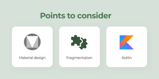 points to consider android app development