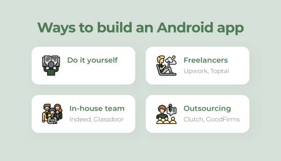 ways to build android apps