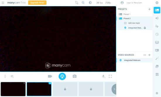 manycam - free webcam software