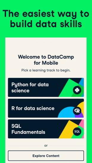 datacamp android app