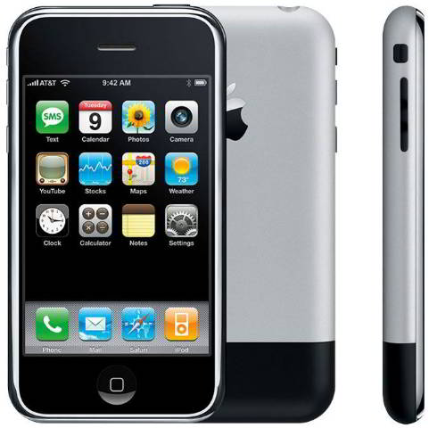 first ever iphone - list of all iphones